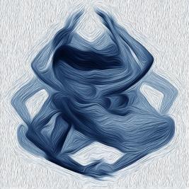 Blue Seated Pose